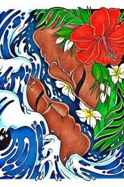 """""""Malayong Mga Kapatid, Hindi Ka Namin Makakalimutan"""" by Raychelle Duazo colored pencil, marker, pen. Work in the """"Bloodlines"""" show"""