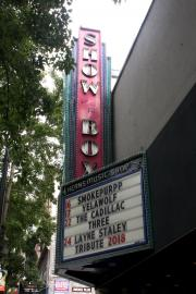 File photo of The Showbox Theater on First Avenue.
