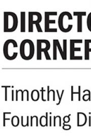 Director's Corner logo Tim Harris