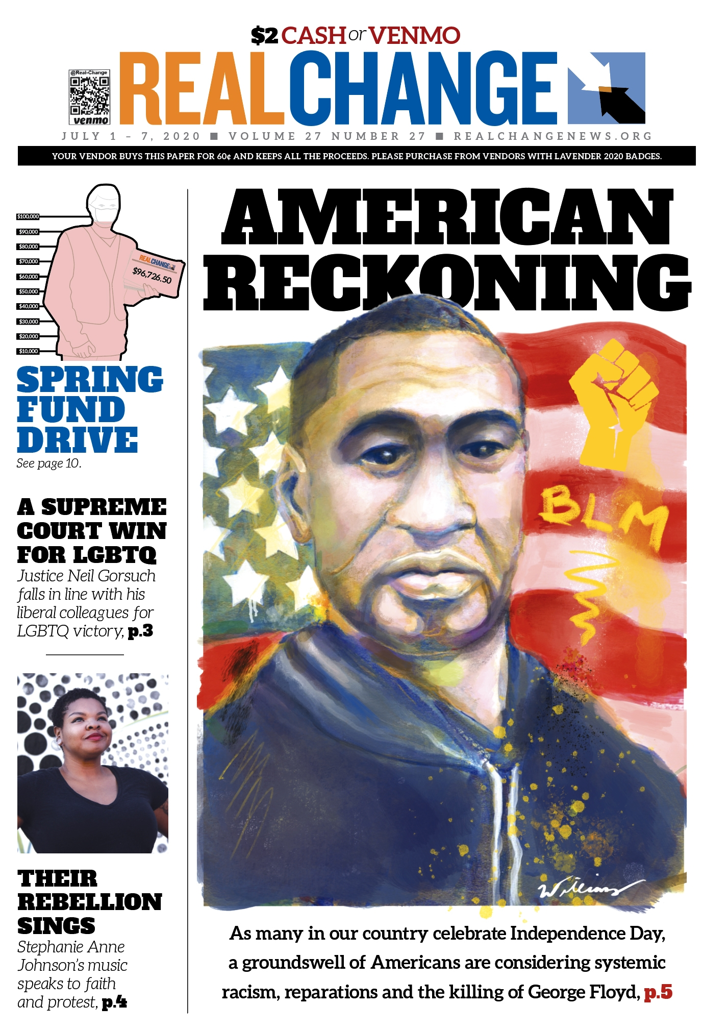 Surrounding U.S. Independence Day in the shadow of the killing of George Floyd, Americans must reckon with our history of systemic, racist injustices. Truth commissions and reparations programs have brought peace to conflicts throughout the world. Do you