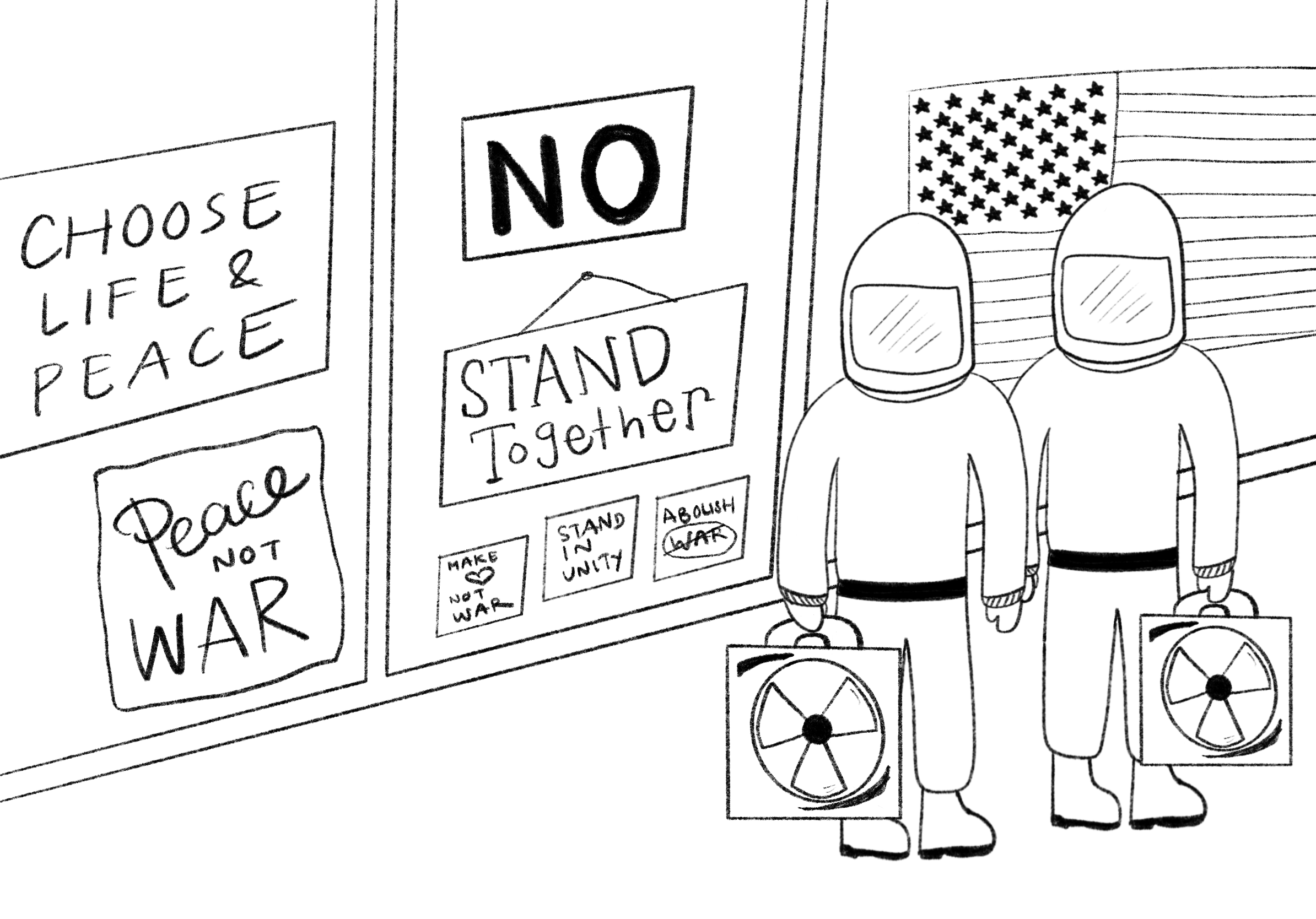Illustration for 'Nuclear Option' book review