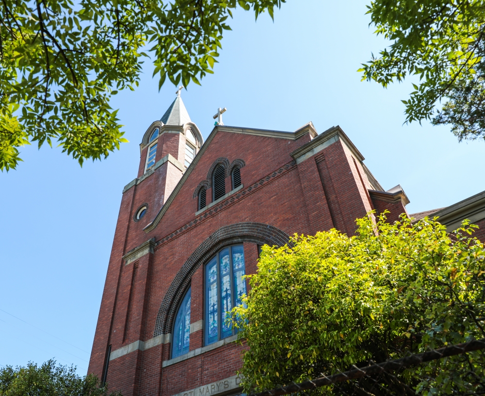 St. Mary's Catholic Church is one of five parishes that will be restructured, according to the Archdiocese of Seattle.