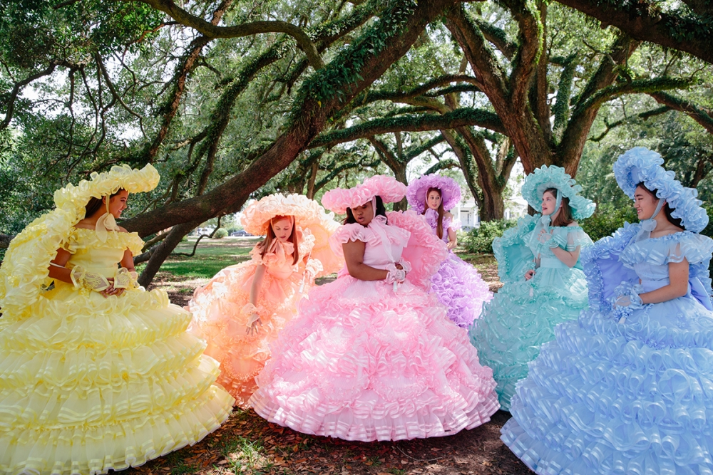 """Trail"" by Adair Freeman Rutledge, 2017, Series: Azalea Trail Maids, archival pigment prints, 20""h x 30""w. Courtesy of the artist"