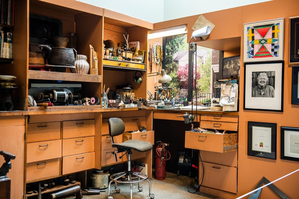Ron Ho's Studio. Photo by Emilie Smith