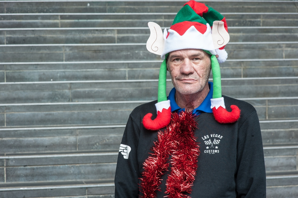 Allan sells The Big Issue Australia
