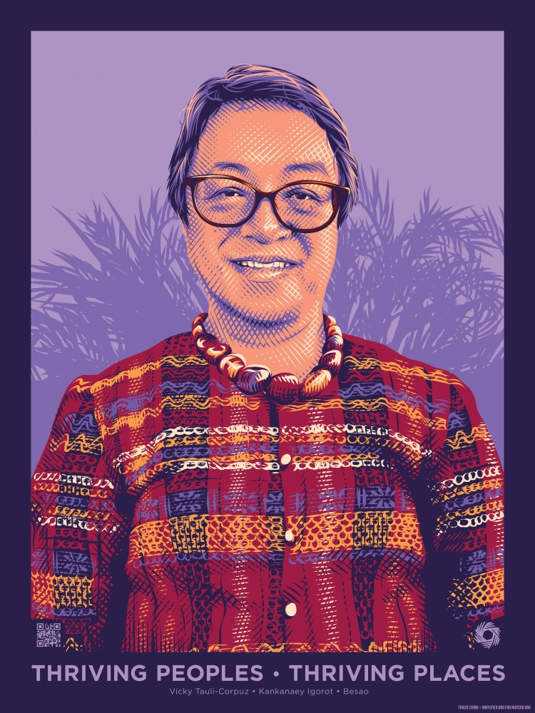 Vicky Tauli Corpuz is a member of the Kankanaey Igorot nation and an activist who not only helped organize the Igorot student movement in Manila in the 1970s and the Indigenous Peoples' Movement in the Cordillera but also actively participated in the draf