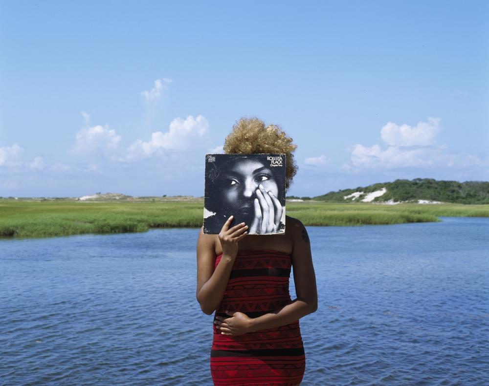 """Roberta Flack"" by Xaviera Simmons, 2009, C-print, 35 × 45"""