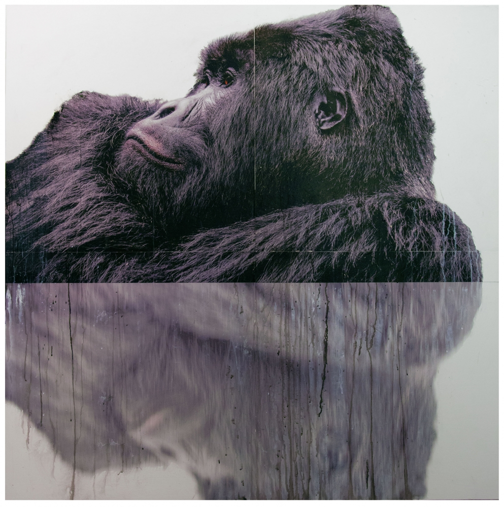 """Foster/White Gallery, """"Gorilla"""" by Andre Petterson."""