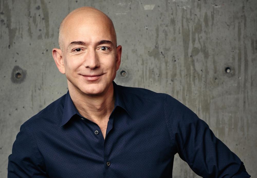 Jeff Bezos, photo courtesy Amazon