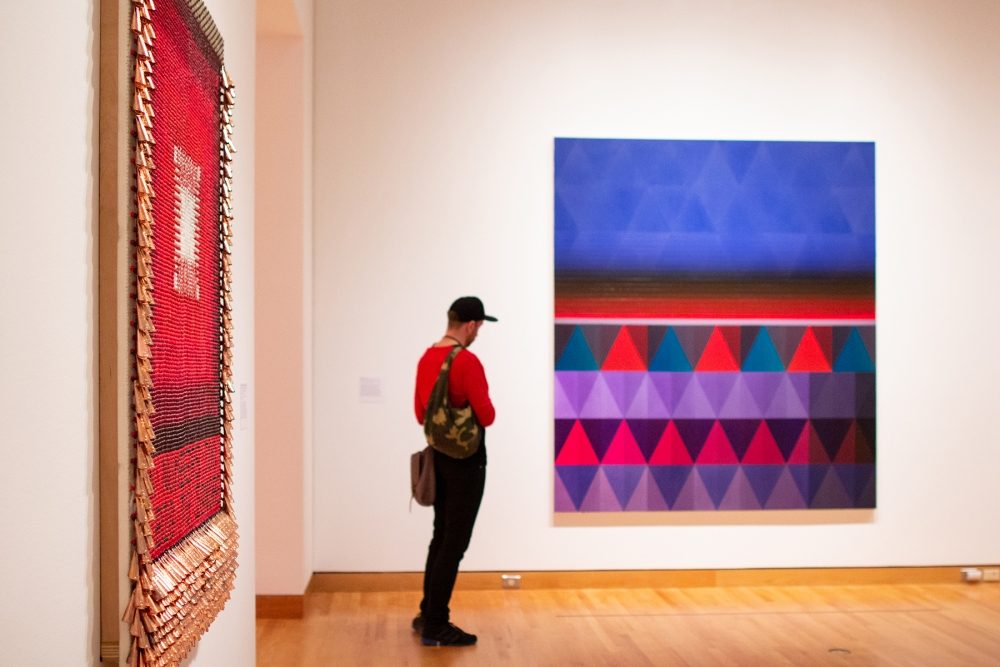 """Jeffrey Gibson: Like A Hammer"" is at Seattle Art Museum until May 12. Photo by Natali Wiseman."