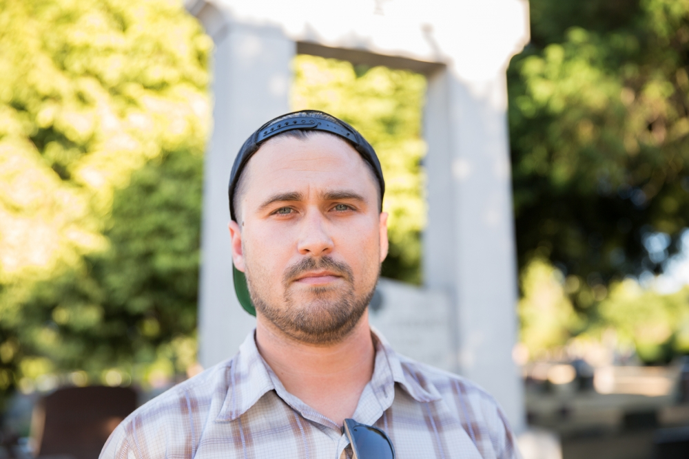 Seattleite Ian S. started the petition to remove the memorial to Confederate veterans from Lake View Cemetery. Photo by Alex Garland