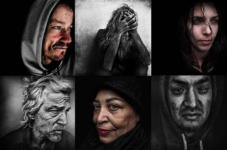 The Seattleites Lee Jeffries photographed when he came to visit earlier this year.