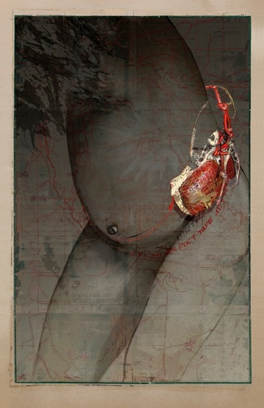 "Dianne Kornberg,""Madonna Bomb 2,"" 2012 archival pigment print"