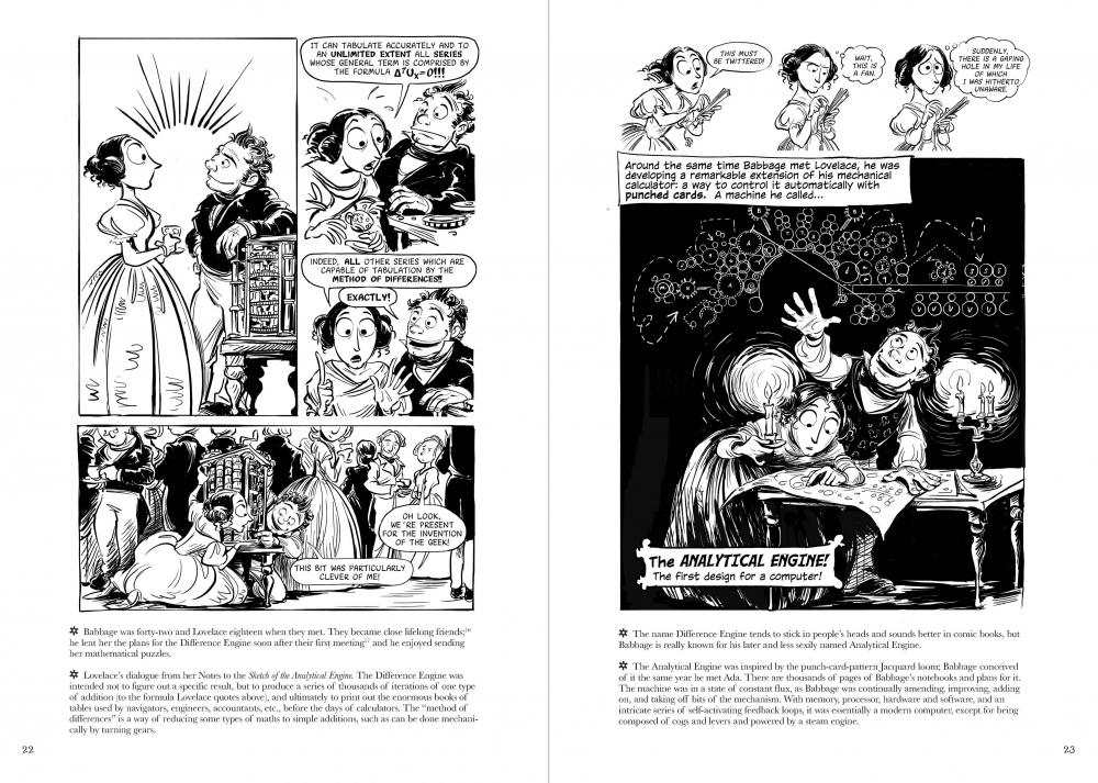 """The Thrilling Adventures of Lovelace and Babbage"" by Sydney Padua"