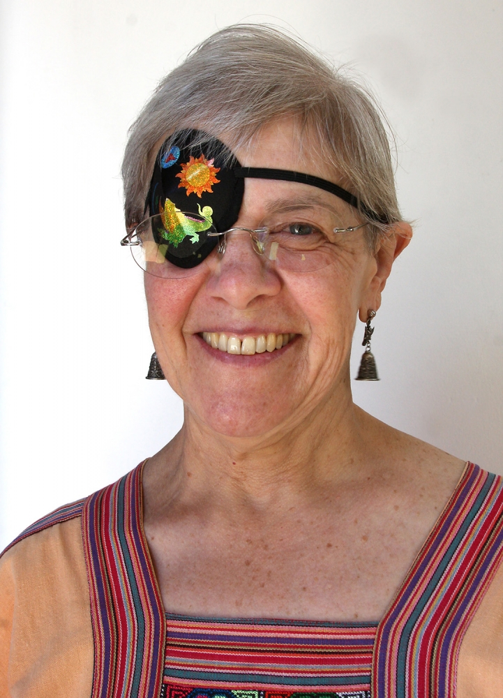 Real Change volunteer Pamela Bradburn. Photo by Jon Williams