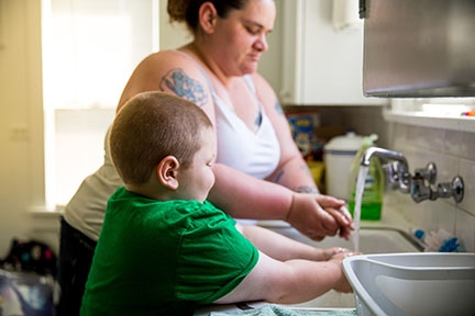 Cancer treatment is challenging without housing. At this house north of Seattle, Josiah's family has a home with kitchen and bath to recover. Photo by Andrea Sassenrath