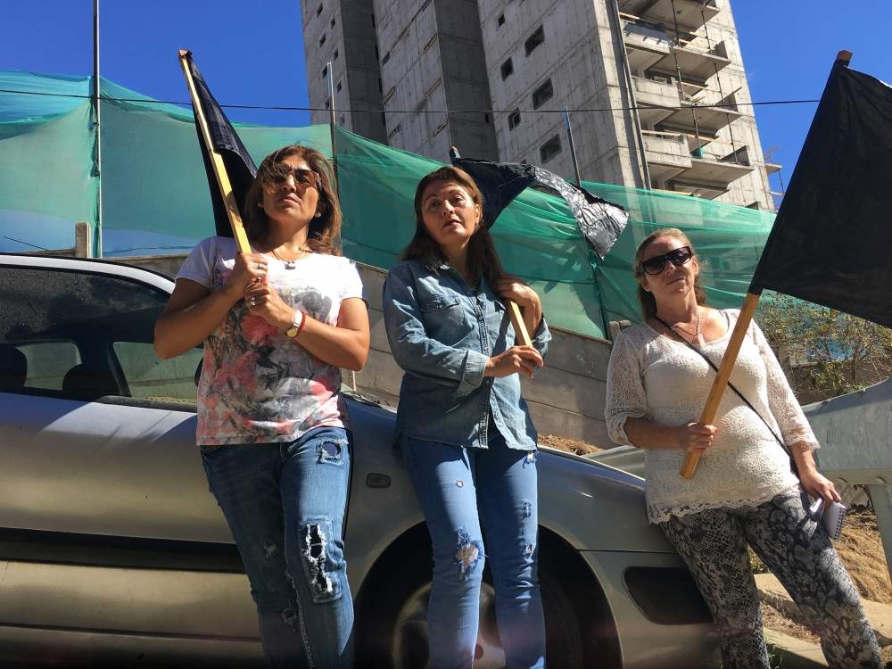 Protesters in Val Paraiso. Photo courtesy PUSH film.