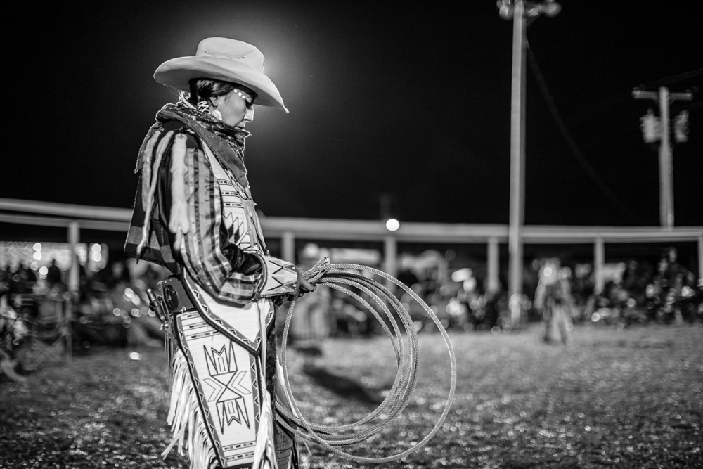 Cowgirl Special, Crow Fair, Crow Agency, Montana 2016. Photo by Adam Sings In The Timber