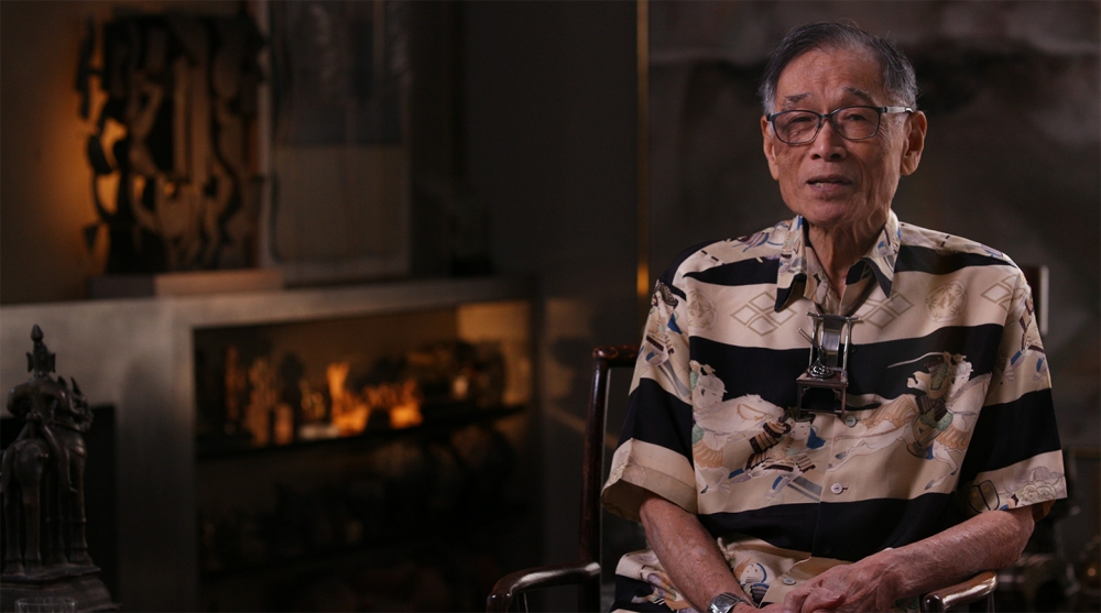 """Film still from """"Ron Ho: Becoming Chinese, A Jeweler's Tale."""" Courtesy of Northwest Designer Craftsmen"""