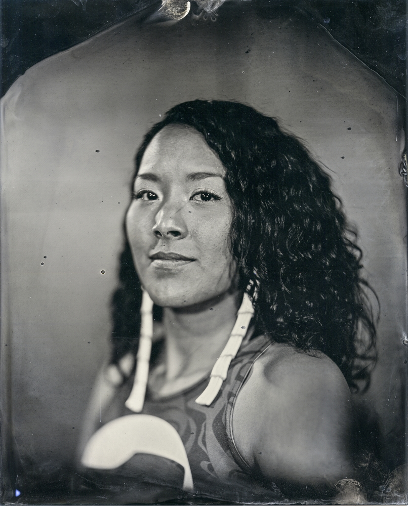 """Talking Tintype, Crystal Worl"" by Will Wilson, Diné."