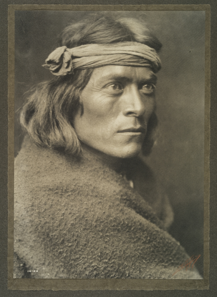 "Sate Sa"" (A Zuni Governor), ca. 1900, Edward S. Curtis, American, 1868-1952, platinum print."