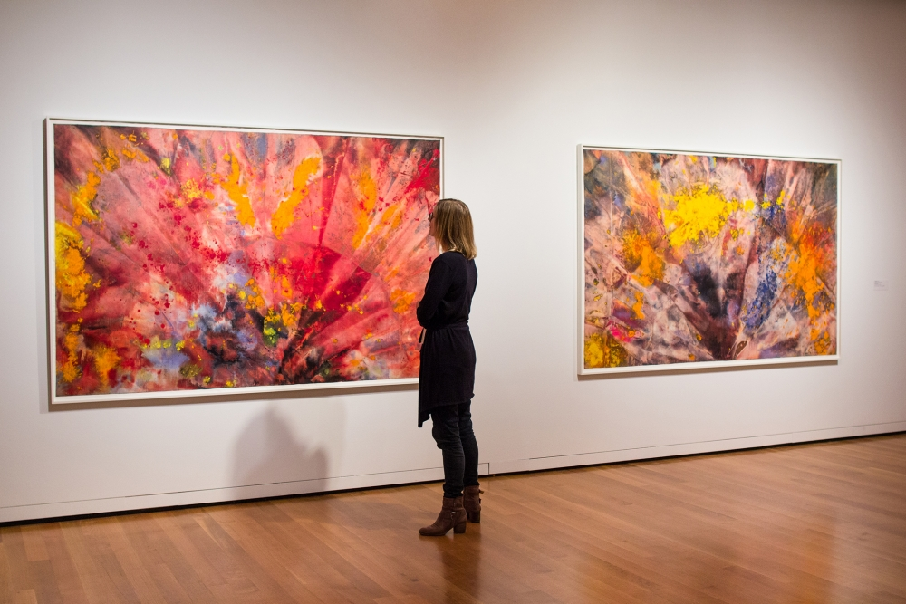 Sam Gilliam exhibition at Seattle Art Museum