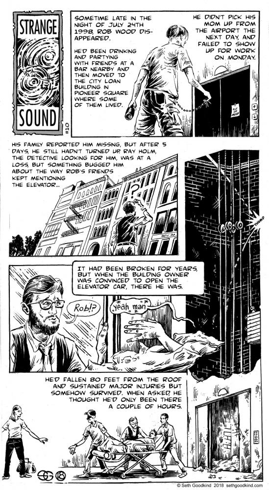 Strange Sound #10 by Seth Goodkind