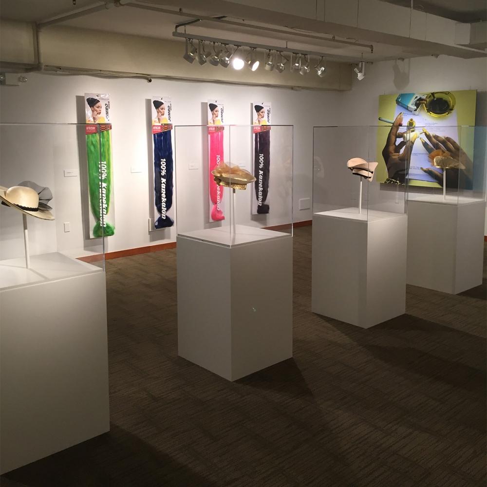 100% Kanekalon exhibition at NAAM.