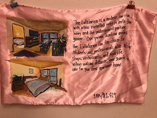 """The Lothlorien"" by Elisheba Johnson, 30""x18.5,"" Mixed media, 2018. Photo courtesy Front Room Gallery"