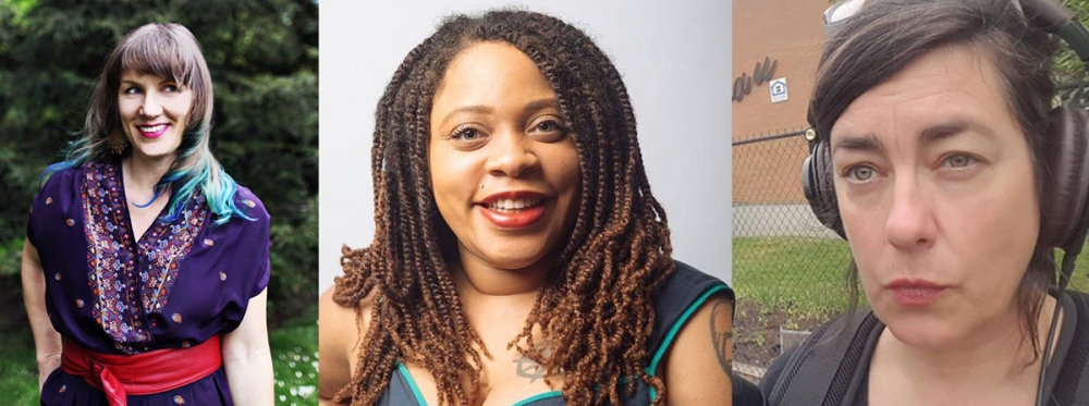 From left, Rachel Kessler, Elisheba Johnson and Jill Freidberg. Along with Inye Wokoma, they formed an artist collective and started Wa Na Wari.