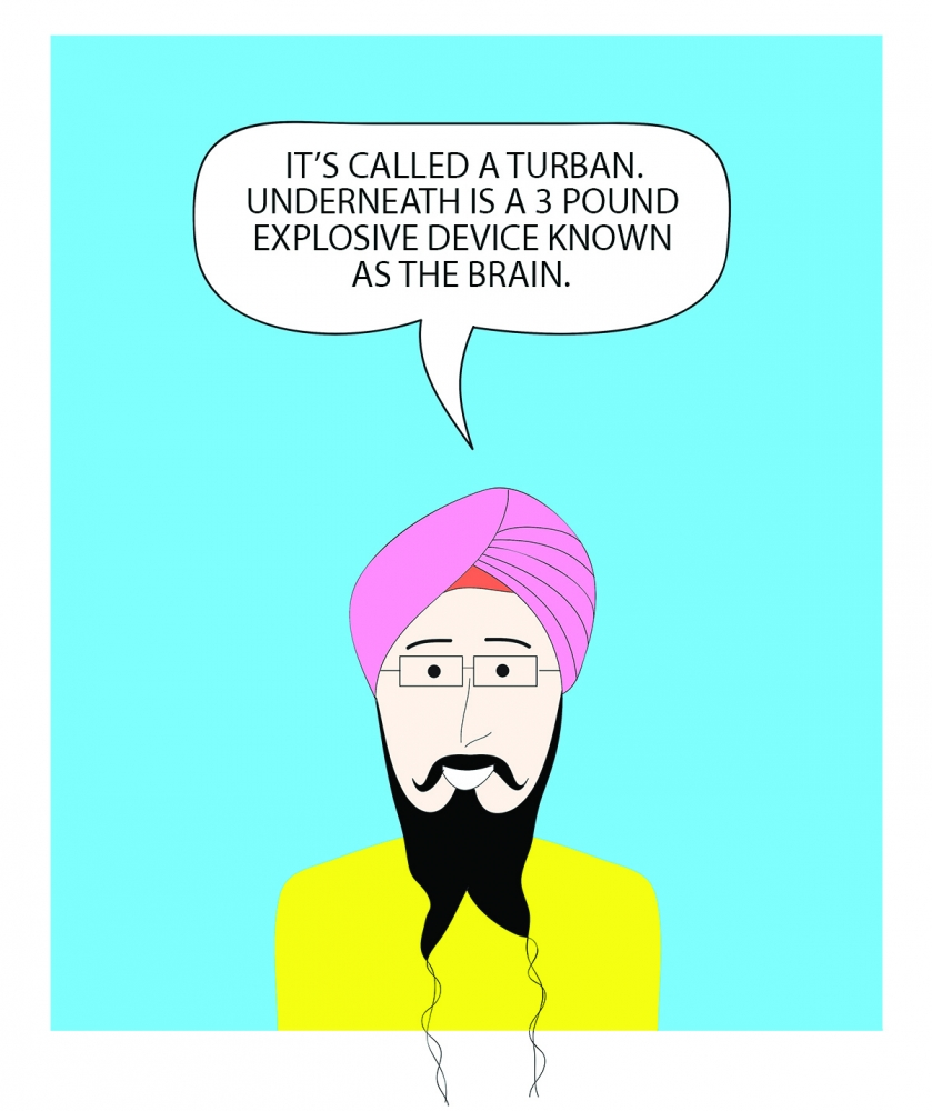 """What's Under the Turban"" by Vishavjit Singh"