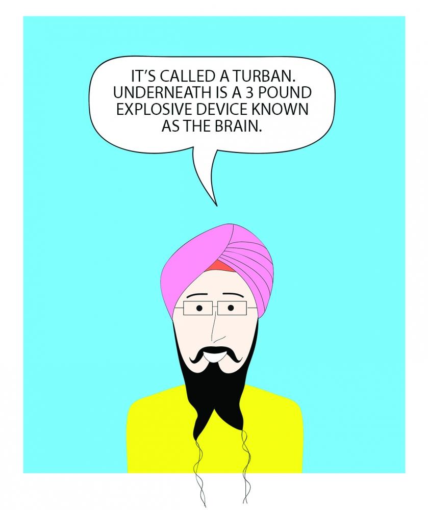 """What's Under the Turban"" by Vishavjit Singh"