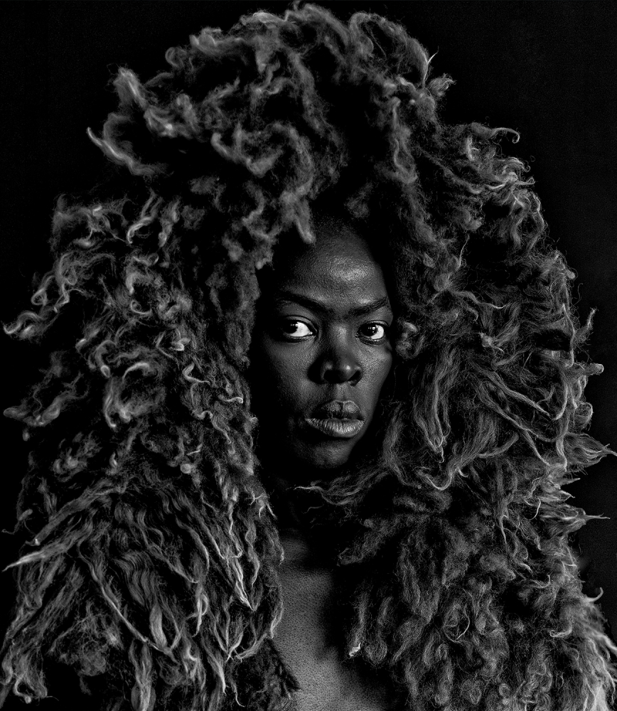 """Somnyama Ngonyama II,"" Oslo, 2015 © Zanele Muholi. Courtesy of Stevenson, Cape Town/Johannesburg and Yancey Richardson, New York"