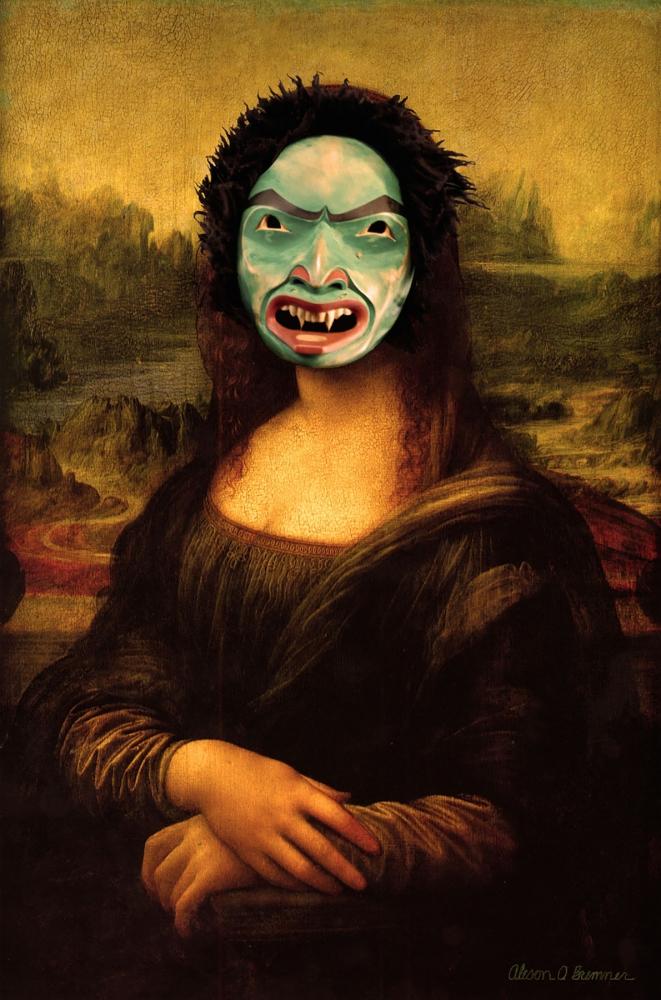 Mona Lisa Smile by Alison Bremner, giclée, 2014