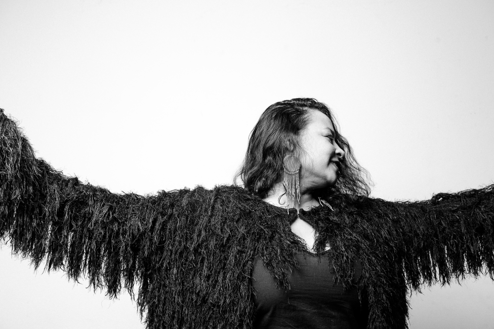 """Raven"" by Zorn B. Taylor, digital photograph on matte archival, 2017."