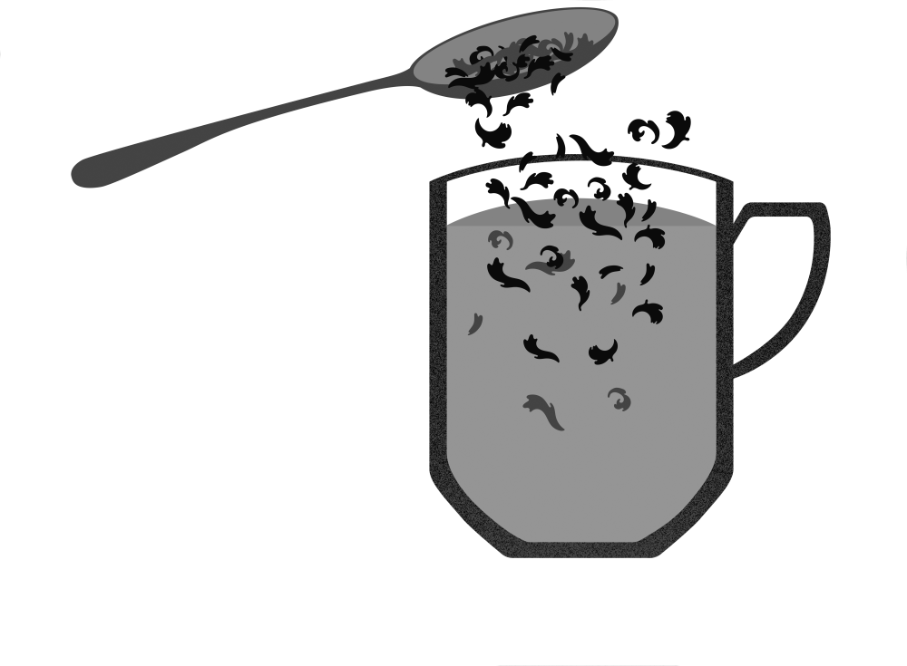 The recommended tea-to-water ratio varies per expert. Jeannie Liu of Seattle's Miro Tea recommends 1 teaspoon of tea per 8 ounces of water. Illustrations by Robin Hunt