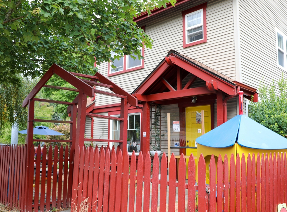 The Life Academy Childcare Center is licensed to provide preschool to up to 12 children; Mitchell-Anderson transformed her home to be an engaging and safe space to teach basic science, reading and math to children.