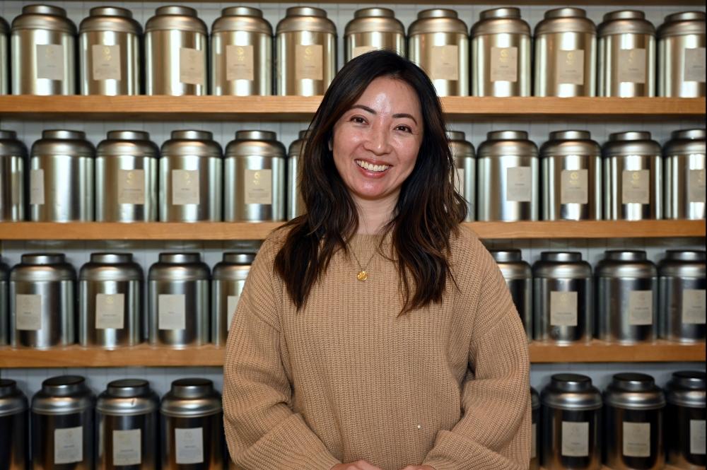 Jeannie Liu, owner of Miro Tea.
