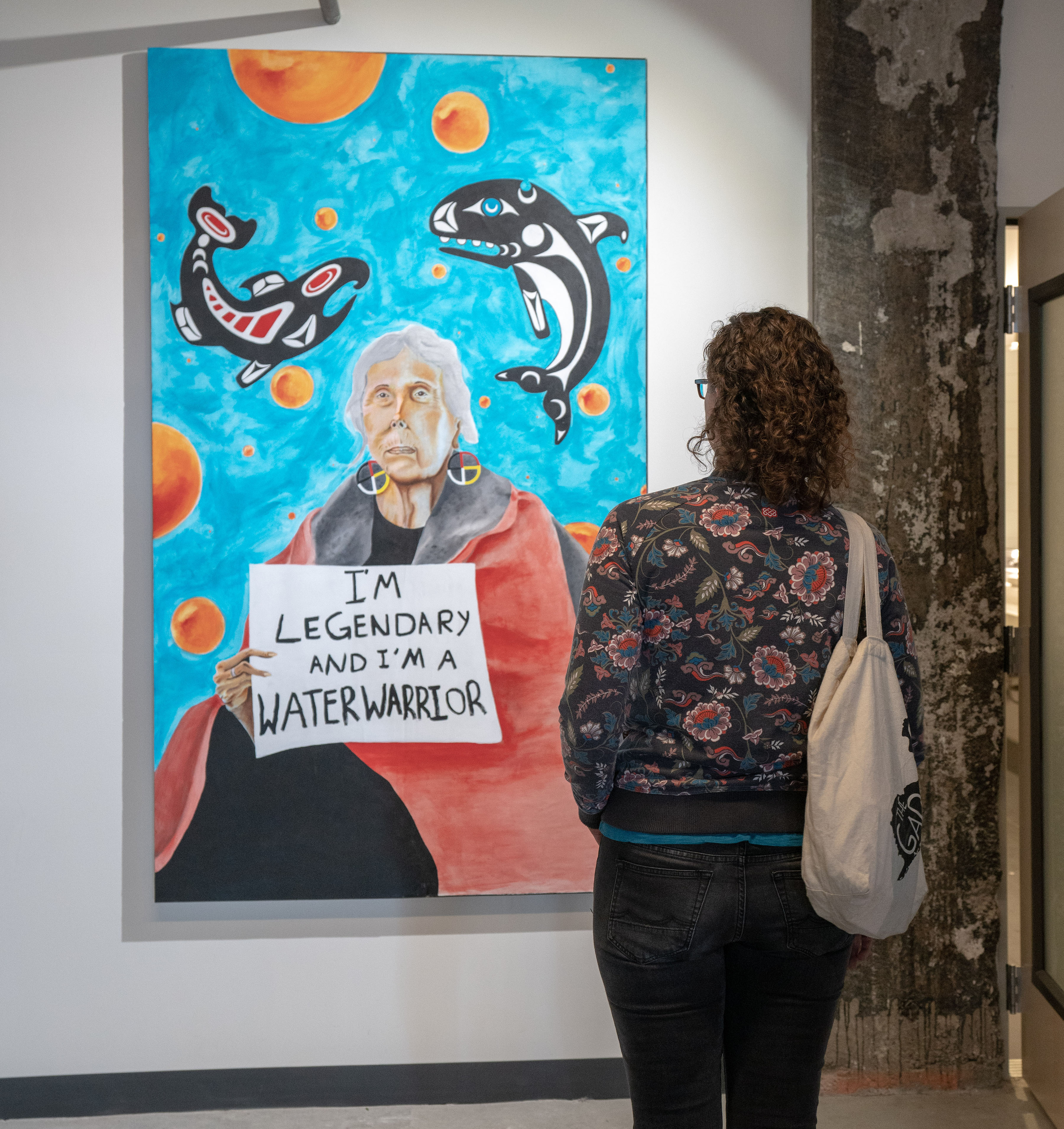 Lifting The Sky Yәhaw̓ Showcases Artwork From Indigenous